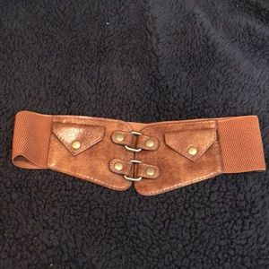 Accessories - Brown expandable belt 🌼
